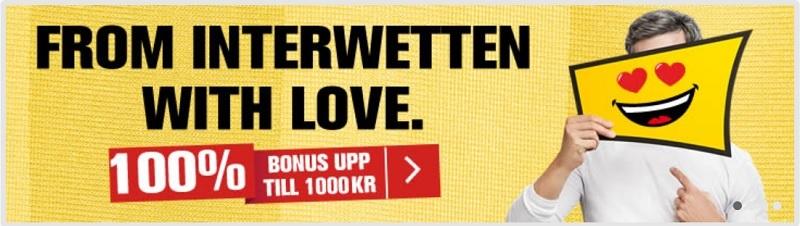 Ny Interwetten oddsbonus för svenska spelare